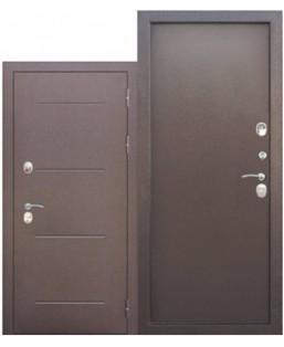 Входные двери 11 см ТЕРМА медный антик мет/мет