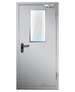 Входные двери ДПМО 01 EIS 60 стекло